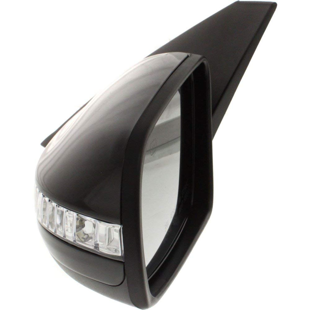 Heated Silver Door Mirror s Including Base Plate RH Driver Side MA3 2003 to 2008 Ball type fittingg