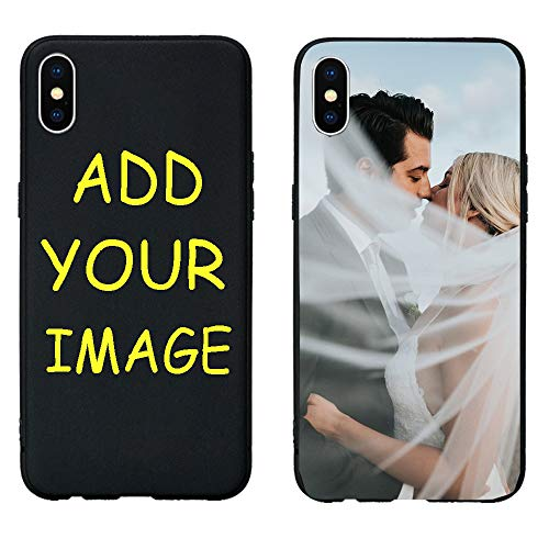 Case Compatible with iPhone iPhone XR Cases,Custom Full-Body Case foriPhone XR with Your Own Name/Image Create Personalized Phone Shock Absorbing Protective Bumper Cover (I Phone 5s Create Your Own Case)