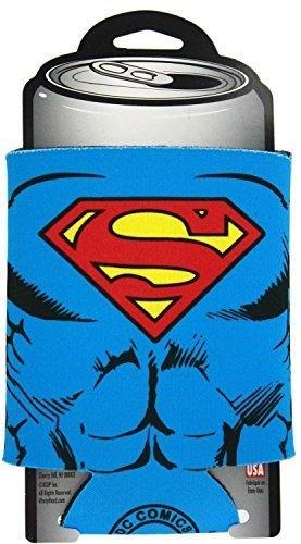 Superman Character Costume Can Koozie