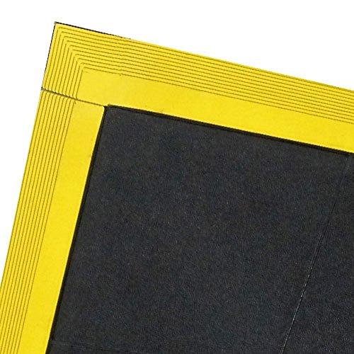 StaticTek FM8 Series Anti Fatigue Floor Mats Conductive Interlocking ESD Floor tiles ESD Floor Runners for ESD Work Surface ESD Floor Matting, 3'X3'- Floor Runner Tiles | TT_FM83X3