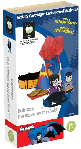 Creative Homemade Superhero Costumes (Cricut Cartridge, Batman: The Brave and the Bold)