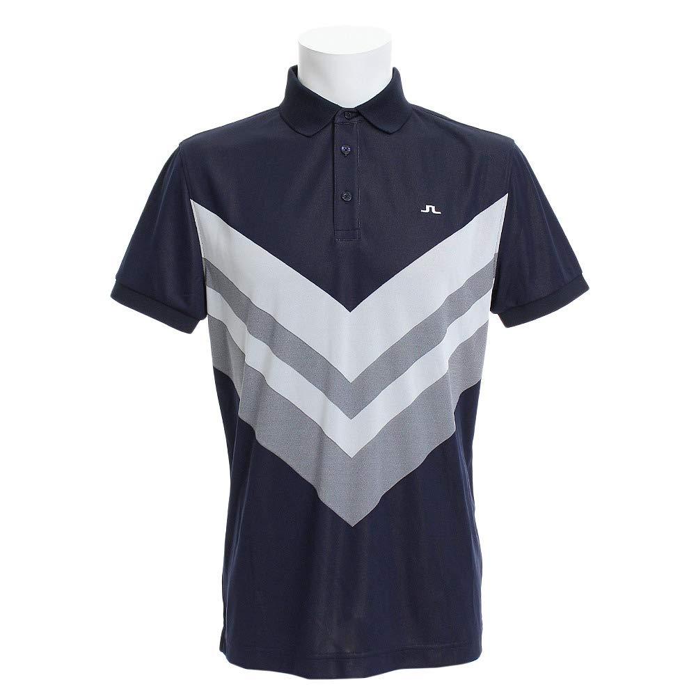 Jリンドバーグ(Jリンドバーグ) ゴルフウェア ACE REG FIT TX JAQ 半袖ポロシャツ 071-29351-098 S ネイビー B07SPCPL1V