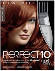 Clairol Perfect 10 By Nice 'N Easy Hair Color Kit, 1...