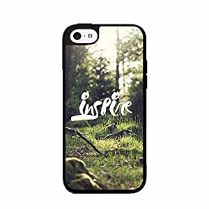 Green Grass Inspire TPU RUBBER SILICONE Phone Case Back Cover iPhone 5 5s