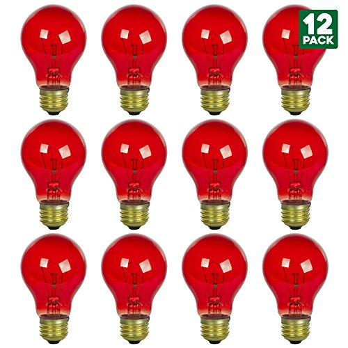 Luxrite Lr21250 2 Pack 4w Led Filament Candelabra Bulb: The 10 Best Lightbulbs Red 2018