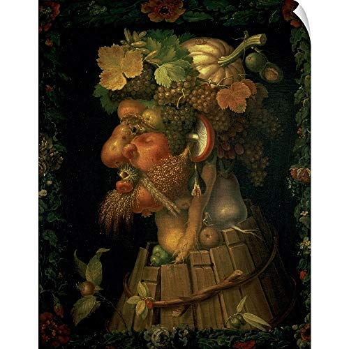 CANVAS ON DEMAND Autumn, from a Series Depicting The Four Seasons Wall Peel Art Print, 19