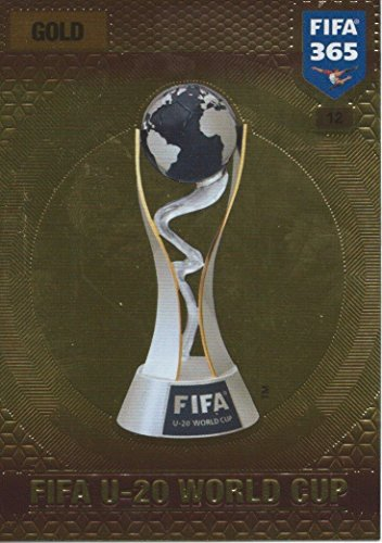 nalyn XL 2017 FIFA U-20 World Cup Trophy Trading Card (Fifa World Cup Trophy)