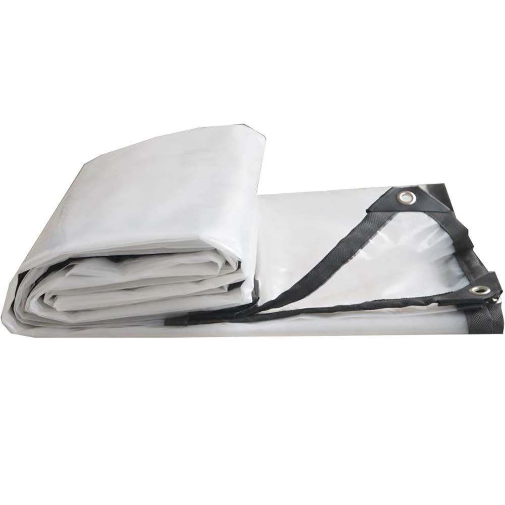 2×2m QING MEI-BÂche Imperméable épaisse Transparente Imperméable à l'eau De Tissu en Plastique Toile De Pluie Toile De Pluie BÂche De Pluie BÂche Isolante Imperméable A+ (Taille   3×8m)
