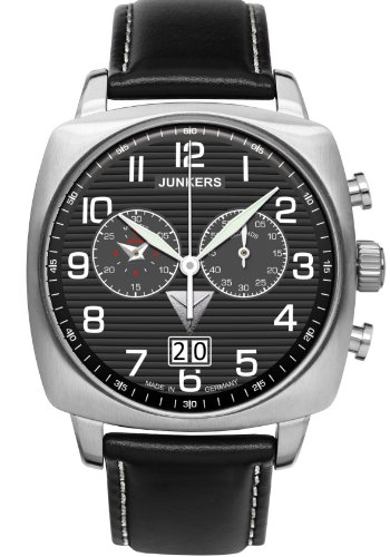 Junkers 1st Atlantic Flight East-West, Big Date Chronograph 6486-2