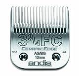 Andis Pet #3 - 3/4FC CeramicEdge Blade Set, 1/2-Inch - 13 mm (64435)