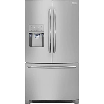Amazon Frigidaire Gallery Stainless Steel French Door Counter