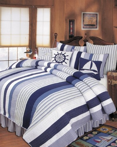 - C & F Enterprises Nantucket Dream Quilt Set