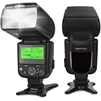 APEMAN Speedlite Flash for Canon Nikon Sony Panasonic Pentax Olympus DSLR Cameras This Professional Flash Kit with Standard Hot Shoe