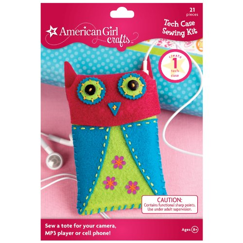 American Girl Crafts Tech Case Sewing Kit]()