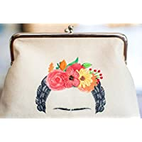 Cartera Frida con detalles bordados a mano Amora Mexico