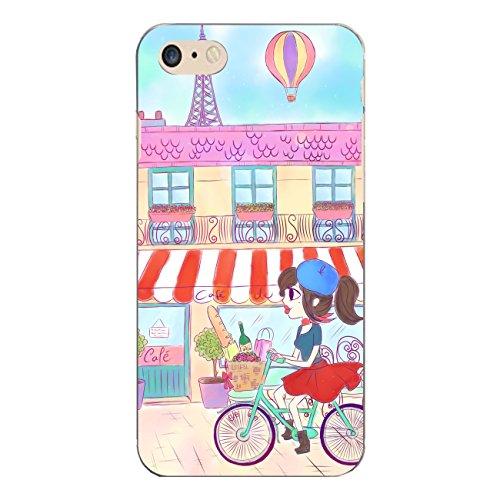 """Disagu SF-sdi-5312_1158#zub_cc7035 Design Schutzhülle für Apple iPhone 7 - Motiv """"Parisienne"""""""