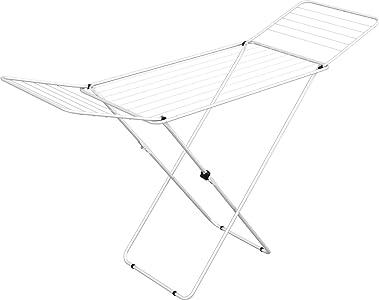 Gimi Jolly - Tendedero de pie de acero, 18 m de longitud de tendido, colores surtidos