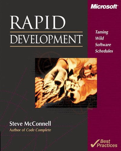 Pdf Computers Rapid Development: Taming Wild Software Schedules