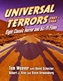 img - for Universal Terrors 1951-1955: Eight Classic Horror and Science Fiction Films book / textbook / text book