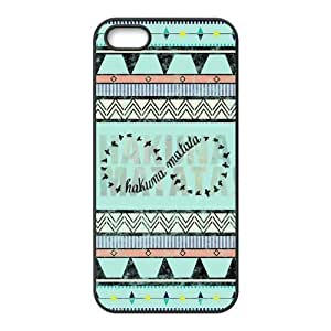 Protective TPU Rubber Coated Phone Case for iPhone 5S / iPhone 5 - Hakuna Matata