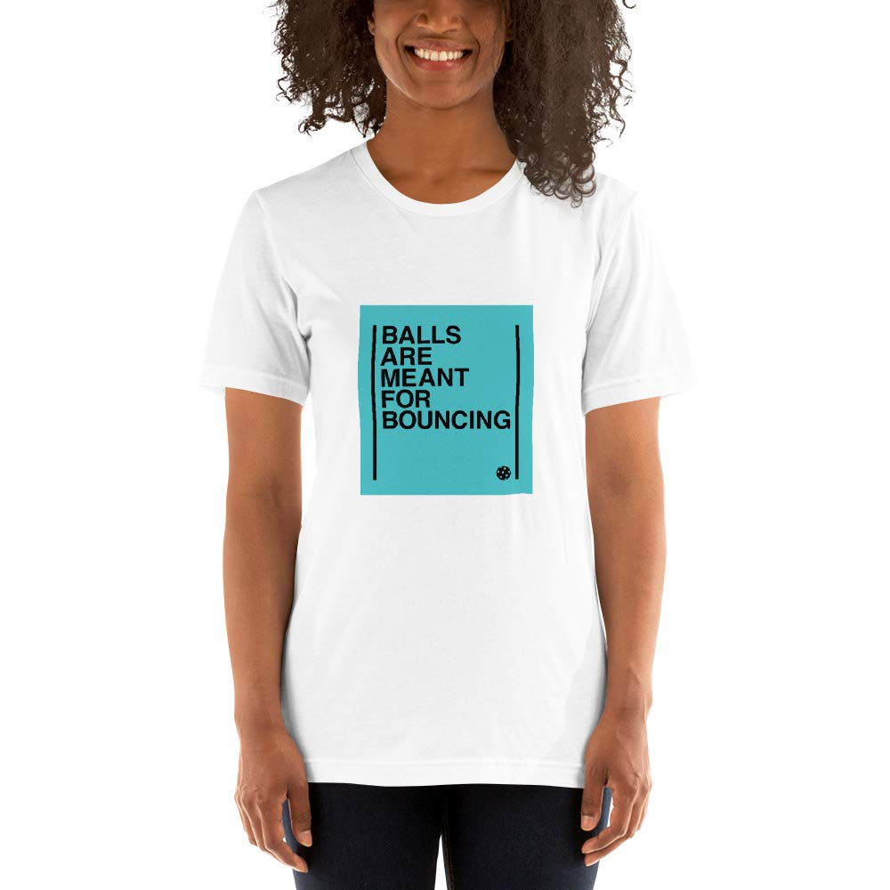 The Salty Orb Meant for Bouncing Short-Sleeve Unisex T-Shirt