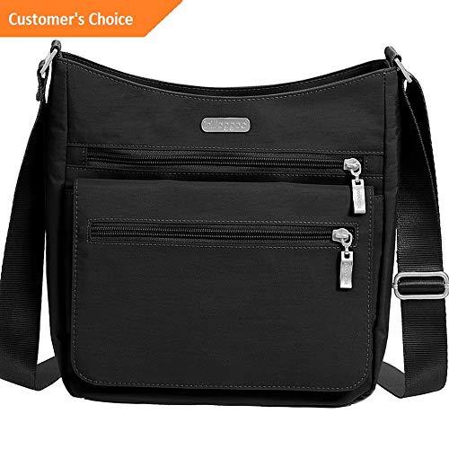 Sandover baggallini Top Zip Flap Crossbody with RFID Wristlet - Cross-Body Bag NEW | Model LGGG - 10955 |