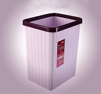 Hochwertig ZWD Haushalt Mülleimer, Kreative Ohne Abdeckung Große Kleine Büro  Papierkorb Küche Wohnzimmer Dorm Zimmer Badezimmer