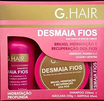 G HAIR DEEP HYDRATION (Desmaia Fios)