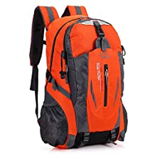 Mountaintop Hiking Backpack,NACOLA 36/55L Lightweight Backpacks for Climbing Camping Travelling Daypack