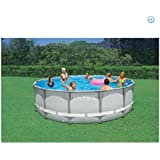 "Intex 14' x 42"" Ultra Frame Round Pool"