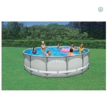 intex 14 x 42 ultra frame round pool