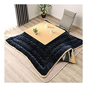 AntiGnor Luxury Kotatsu Futon Blanket Patchwork Style Cotton Soft Quilt Japanese Kotatsu Table Cover Square/Rectangle…