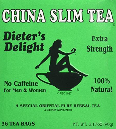 Tea Pot Tea China Slim Diet, 3.17-Ounce Units (Pack of 4)