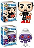 Funko POP! The Smurfs: Gargamel & Azrael + Gnap! Smurf - Vinyl Figure Set NEW