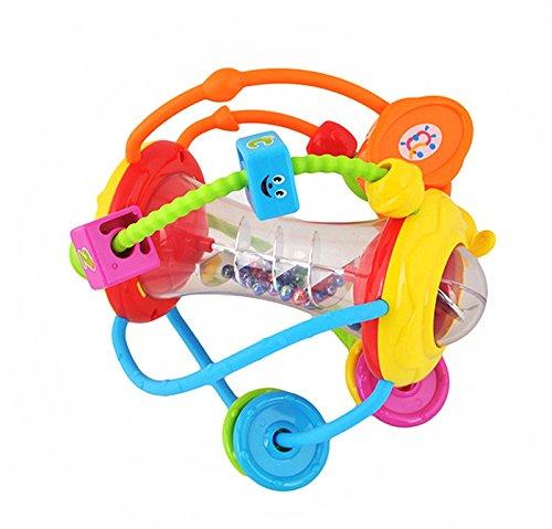 Iso Trade Motorikspielzeug Motorikschleife Spielzeug Baby Motorikrassel Kinder #1387