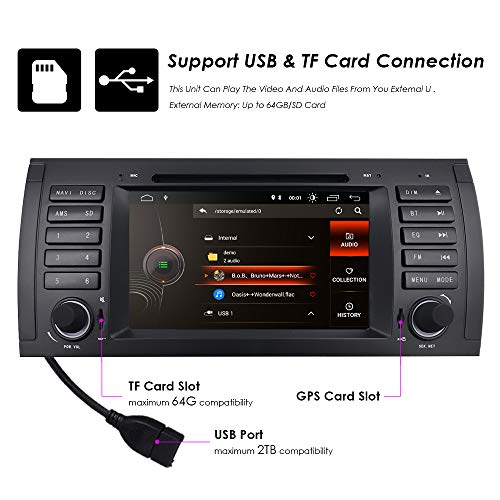 in Dash 7 Inch Navigation Android 9 0 Car Stereo Quad Core