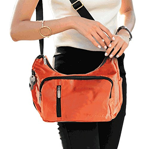 Bag Lightweight Crossbody Travel Slouch Handbag Shoulder Suvelle Multi Everyday Blu 2054 Pocket n6xqZRwpX