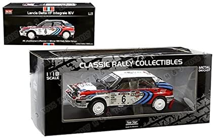NEN 1:18 SUNSTAR CLASSIC RALLY COLLECTIBLE - LANCIA DELTA HF INTEGRALE 16V - #
