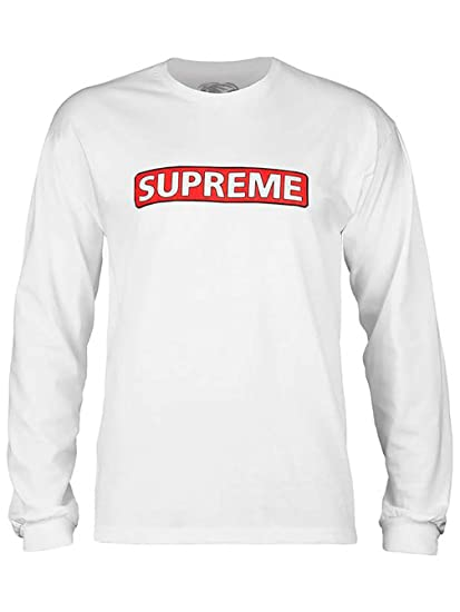 65e510e8d Powell-Peralta Skateboard Long Sleeve Shirt Supreme White Size M. Roll over  image to zoom in