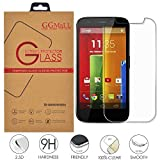 Motorola Moto G1 Screen Protector, GG MALL® Genuine Anti Scratch Explosion Proof Protective Tempered Glass Screen Protector for Motorola Moto G 1st Gen (with Retail Package)