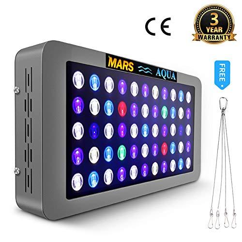 MARSHYDRO MarsAqua Dimmable 165W LED Aquarium Light Lighting Full Spectrum...