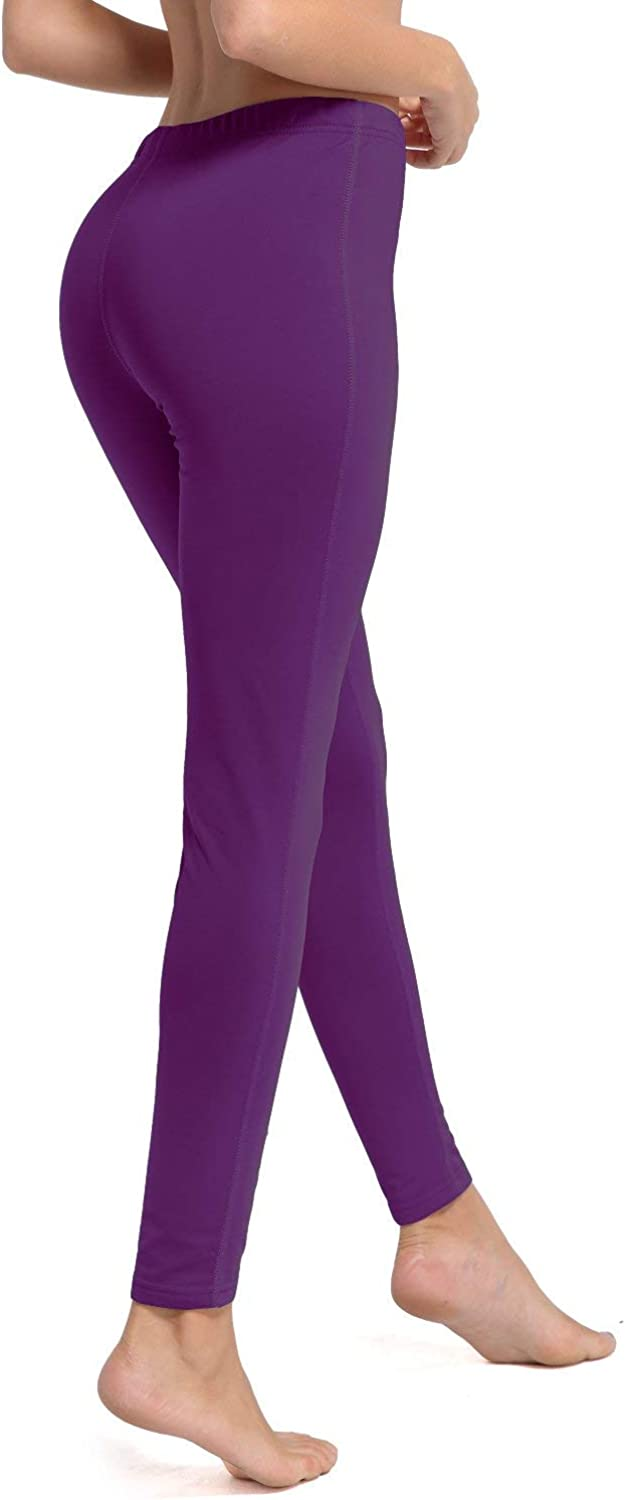 BALEAF Womens Heavy Weight Thermal Leggings Tights Stretch Fleece Warm Winter Base Layer Underwear
