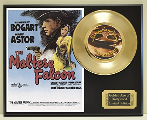 (Maltese Falcon Limited Edition Gold 45 Record Display. Only 500 made. Limited quanities. FREE US SHIPPING)