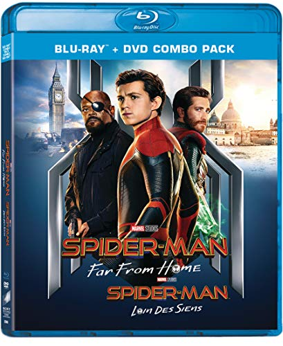 Spider-Man: Far From Home [Blu-ray + DVD + Digital] (Bilingual)