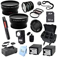Advanced Professional Kit: for Canon VIXIA HG20, HG21 Disk Drive HD Camcorder
