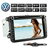 """Best  - Rearview Camera+8"""" Inch 2 Din Touch Screen Car Review"""