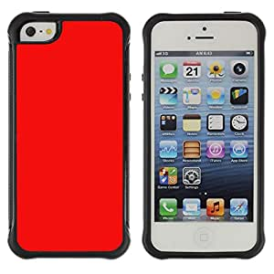 Jordan Colourful Shop@ red color bright Rugged hybrid Protection Impact Case Cover For iphone 5S CASE Cover ,iphone 5 5S case,iphone5S plus cover ,Cases for iphone 5 5S