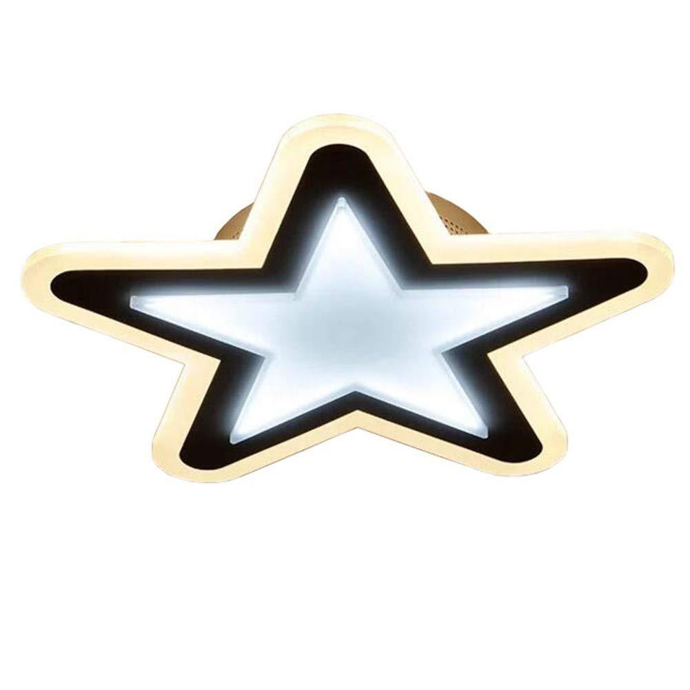 億兆堂 【送料無料】照明 シーリングライト スター 星型 天井照明 調光タイプ 電球色~昼光色 漫画の温かい男の子の女の子の寝室のベッドルームランプ (type1)   B07T87B73C
