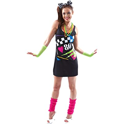 I Love the 80s Dress: Ropa y accesorios