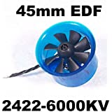 Mystery EDF Plus HL4508 2422-6000KV Brushless Motor 45mm EDF Ducted Fan Power System